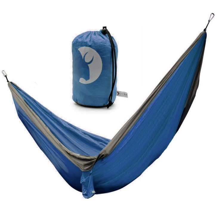 top 10 hammocks for camping Tribe Provisions Compact Adventure Hammock blue