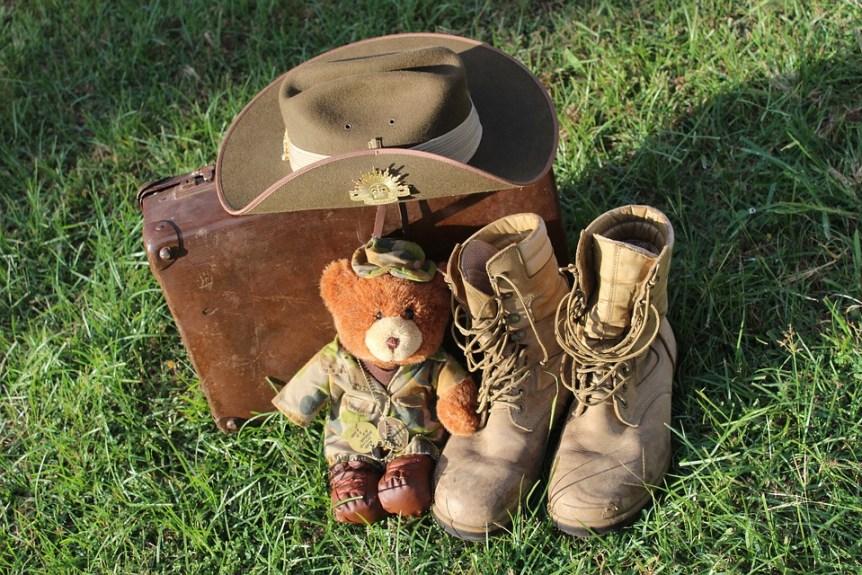Backpacking in Australia gear