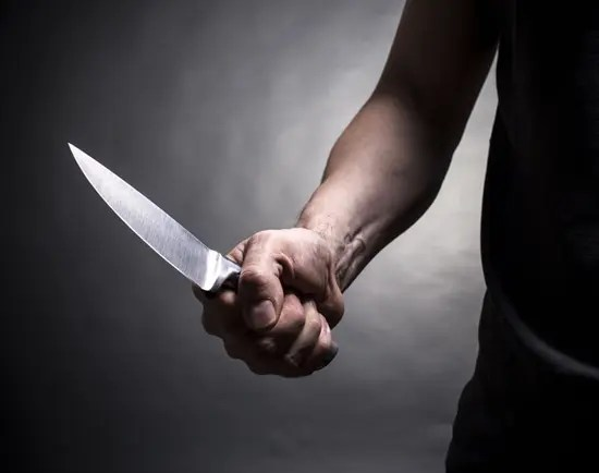Defending yourself against a knife attack