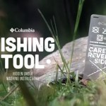 Columbia fishing tool clothing tag