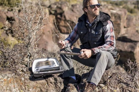 Meet GoSun, the world's most portable solar oven is as resourceful as it is compact.
