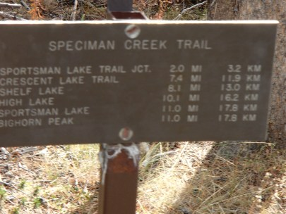 Opening Trail Sign