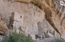 Indian Cliff Dwelling- Ute Mountain Tribal Park