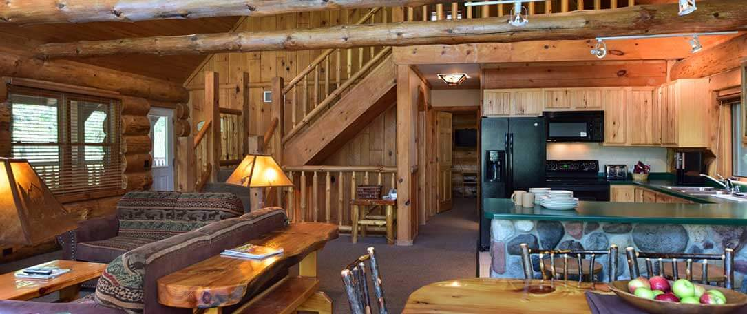 4 Bedroom Retreat Cabin Wilderness Resort Wisconsin Dells