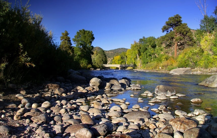 Arkansas River in Colorado