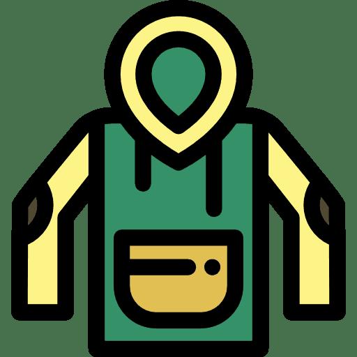 warm clothes icon