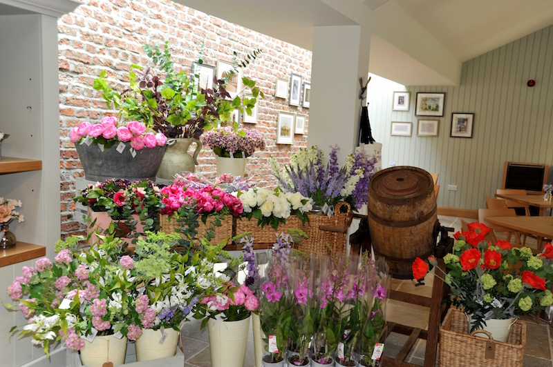 Flowers in the shop