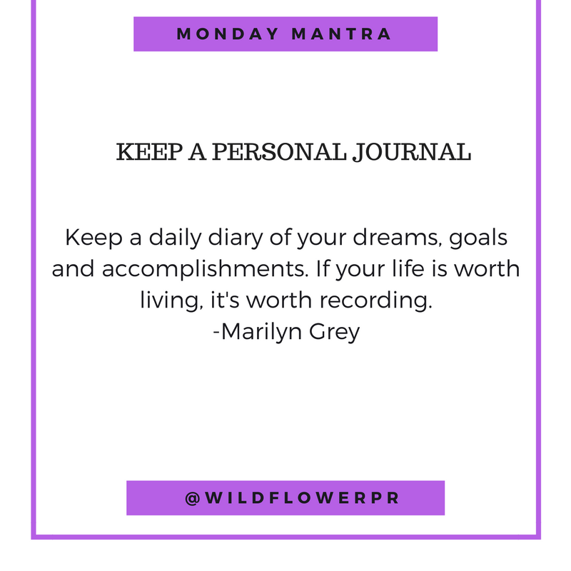 personal journal quote by marilyn grey