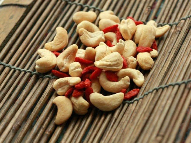 Goji Berries and Cashews. Photo Credit: Jennifer