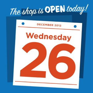 open wed dec 26th