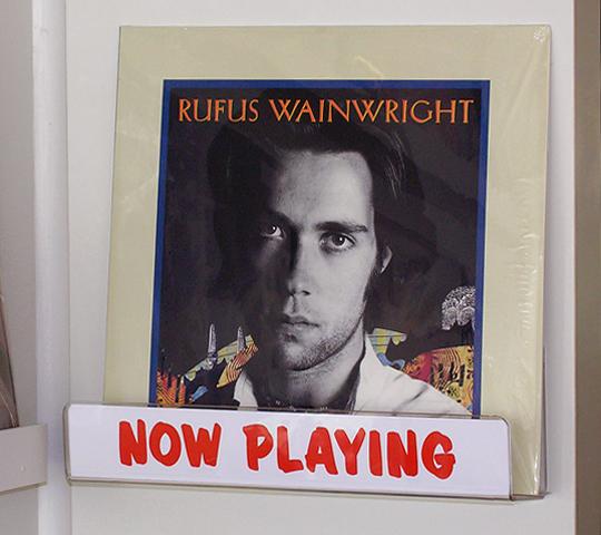 Rufus Wainwright vinyl
