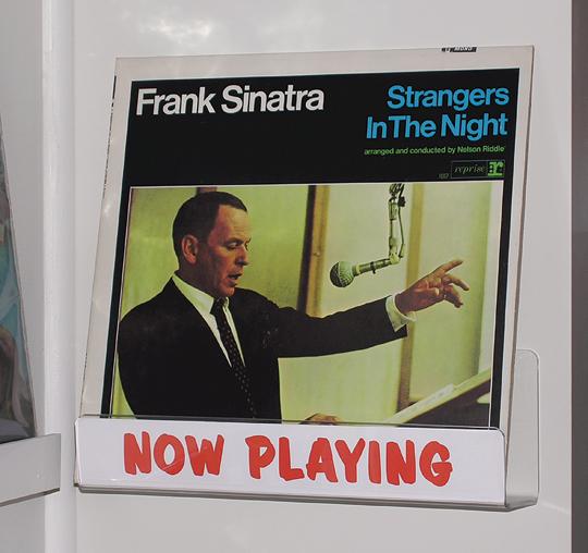 Frank Sinatra now playi