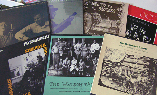 bluegrass folk traditional vinyl records