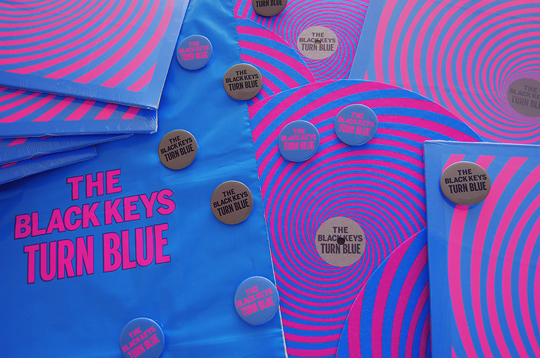 black keys turn blue vinyl