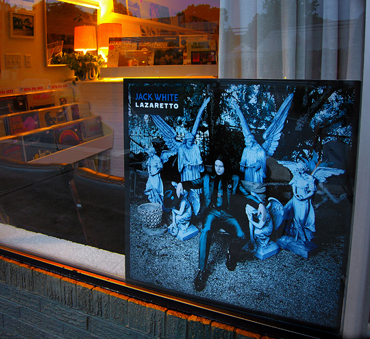 jack white lazaretto window display