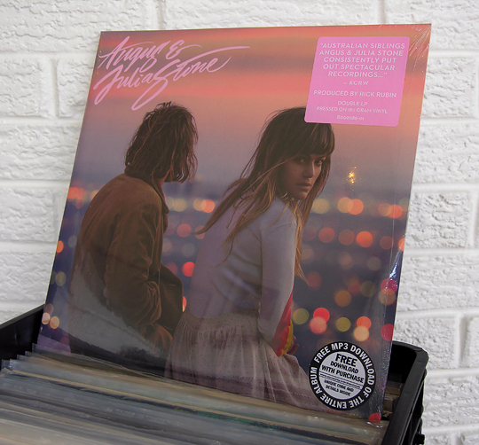 Angus & Julia Stone on vinyl