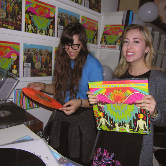 flaming lips listening party_at_wild honey records fwends