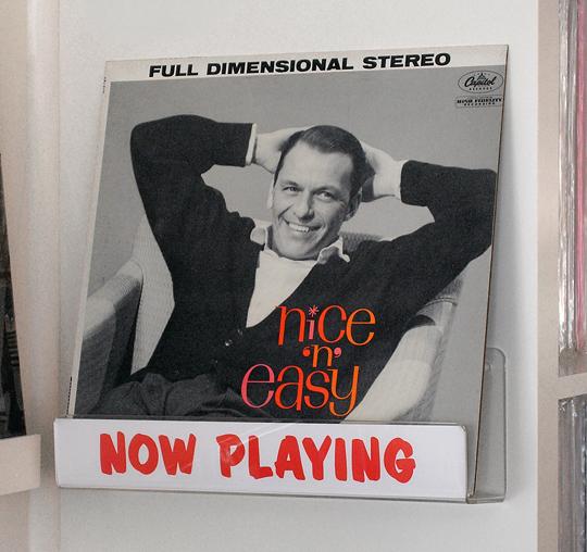 Frank Sinatra Nice N East vinyl record