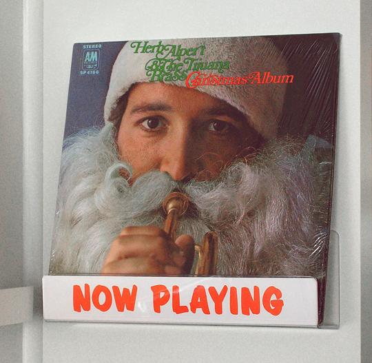 Herb Alpert Christmas Album vinyl