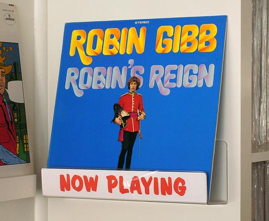 Robin Gibb Robin's Reign vintage vinyl
