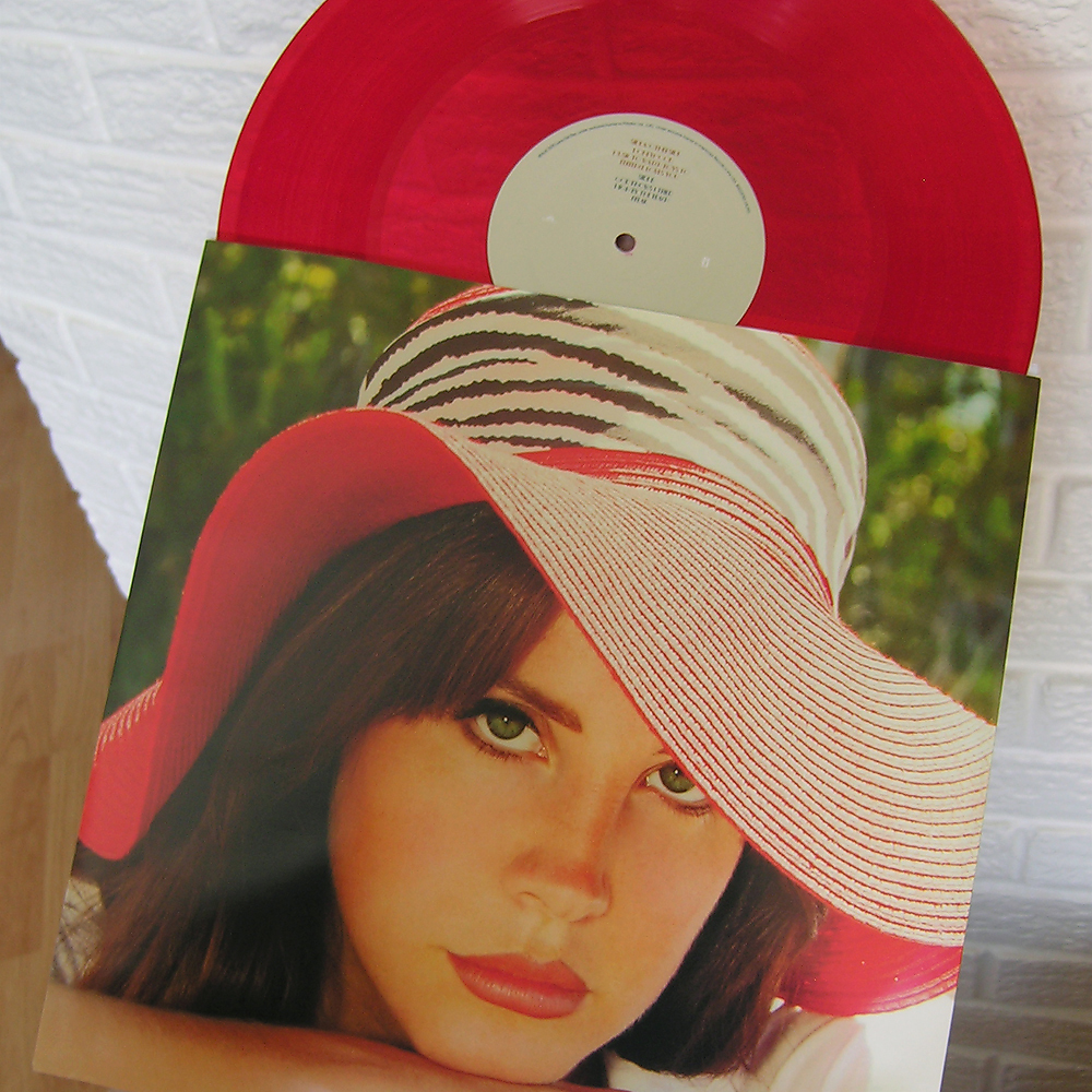 Lana Del Rey Honeymoon red vinyl