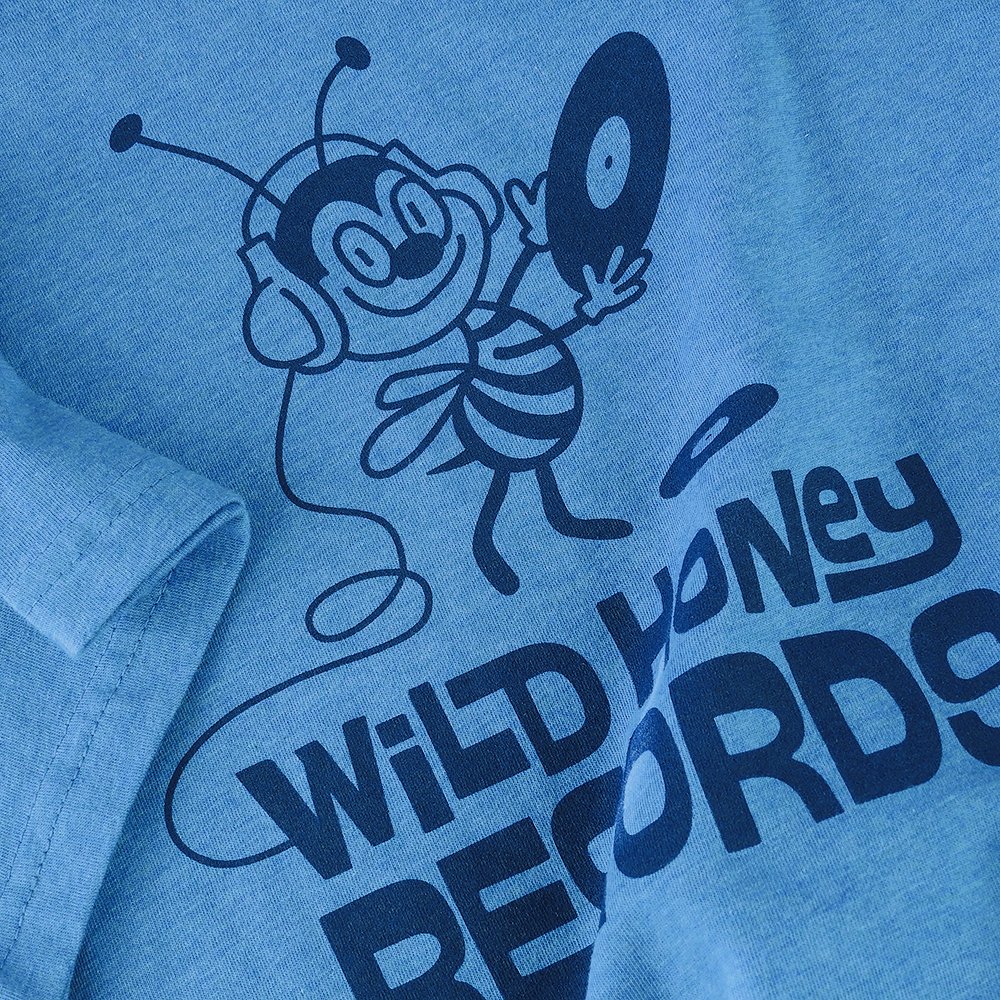 wild_honey_records_tee_shirt_knoxville_vinyl_record_store_bee_tshirt