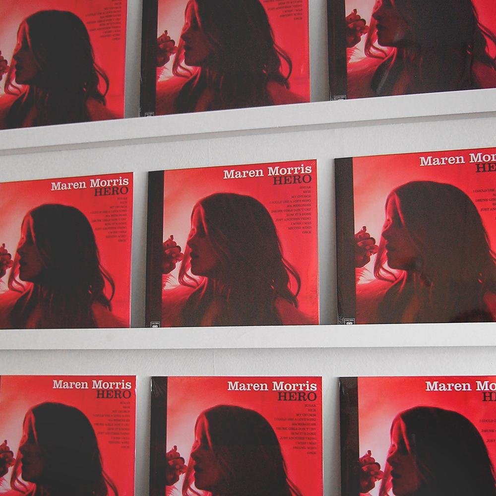 Maren Morris Hero vinyl