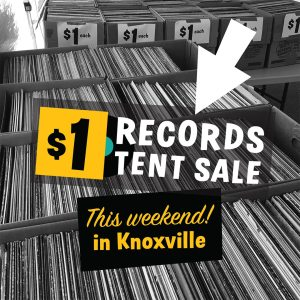 dollar records tent sale knoxville