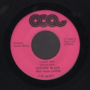 GENUINE BLACK 45