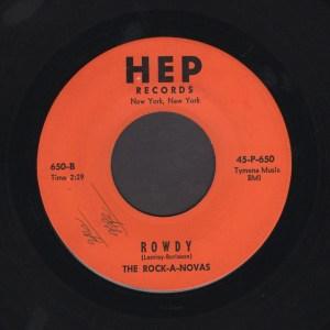 THE ROCK-A-NOVAS 45