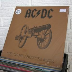 ACDC vinyl record - new