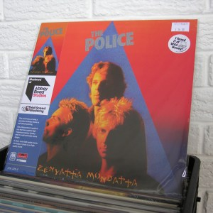 POLICE vinyl record - new