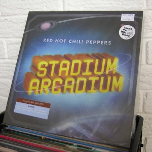 RED HOT CHILI PEPPERS vinyl record - new