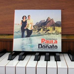 PAULA MORENLENBAUM AND JOAO DONATO agua CD