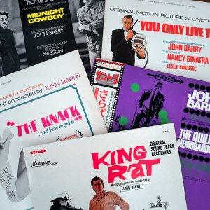 John Barry composer soundtracks KIng Rat The Knack Midnight Cowboy
