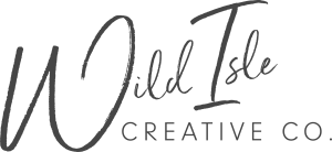 Wild Isle Creative Co. Logo