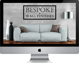 Bespoke Wall Finishes Website Design