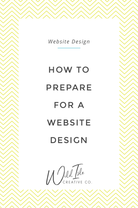 How to Prepare for a Web Design