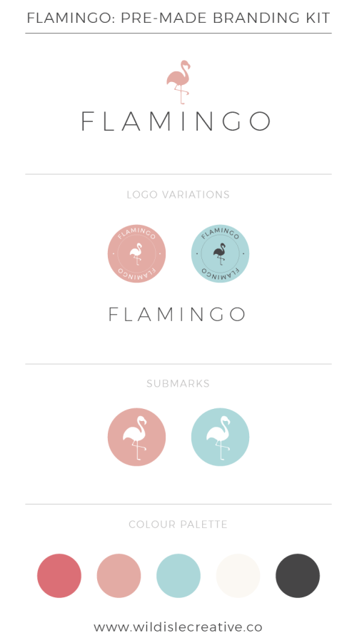 Flamingo - Brand Design Kit