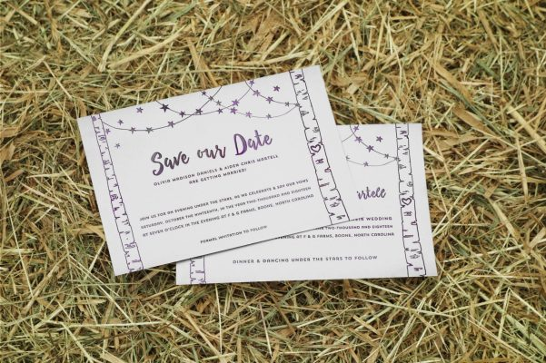 Matching save the dates available