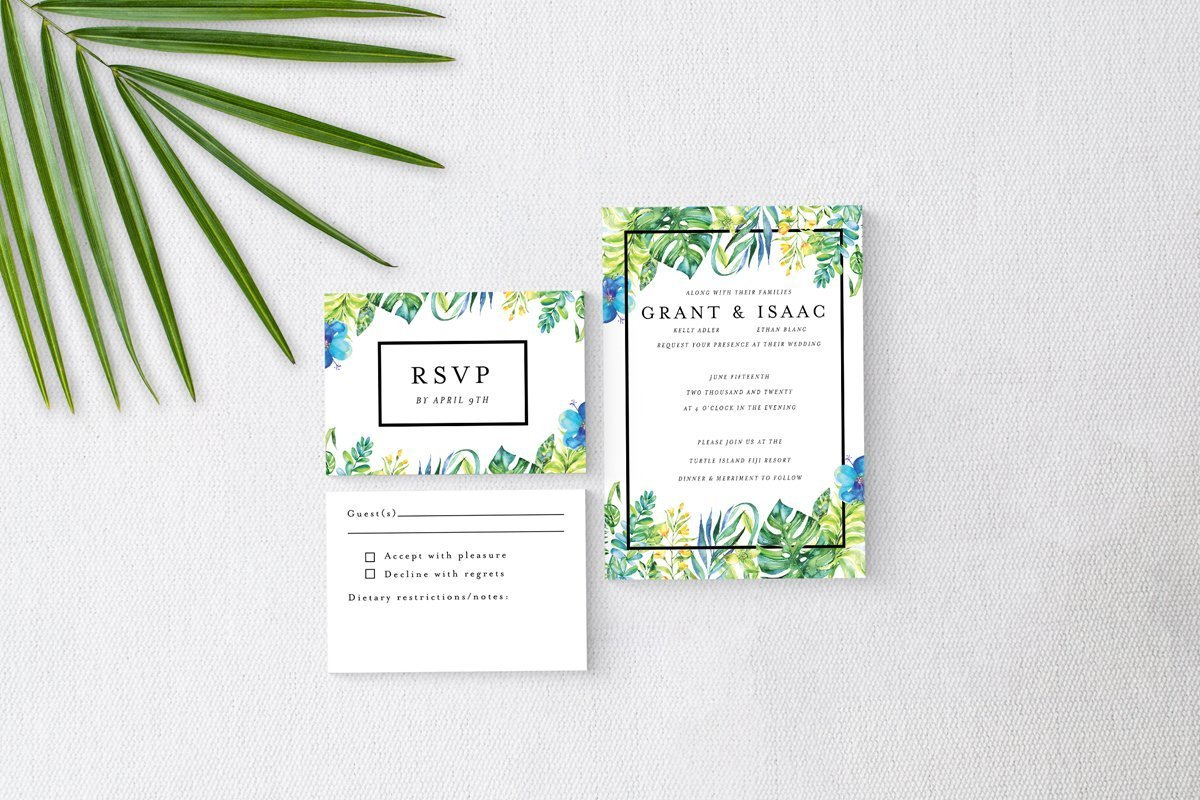 Tropical Island Basic Wedding Suite