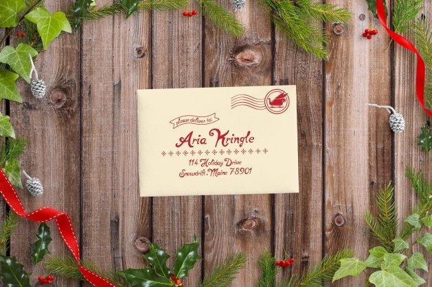 Santa Letter Mockup 4 - Wild Joy Studios