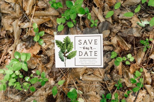 Vintage Oak STD - Forest Stationery Mockup 18