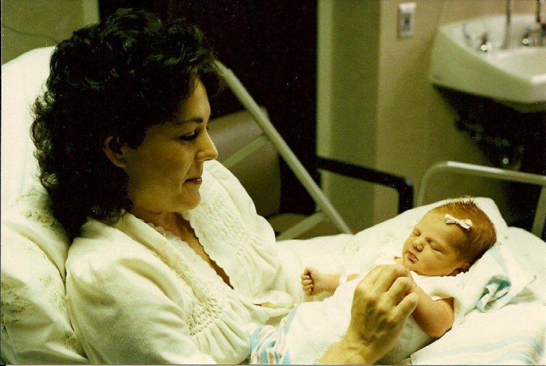 Allison born in hospital