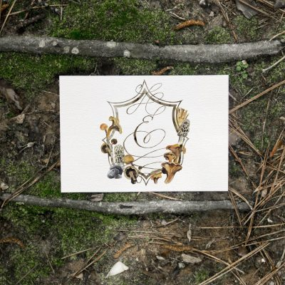Wild Joy Inspiration – Forest Mushroom Wedding
