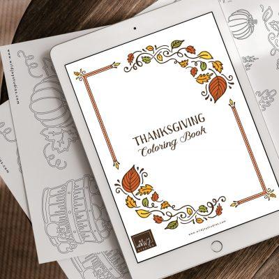 Friday Freebies: Thanksgiving Printables