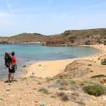 Playa de Cavalleria desde la duna fósil