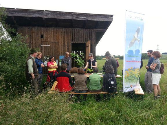Exkursion für Erwachsene zur Torfhütte im Thalhamer Moos