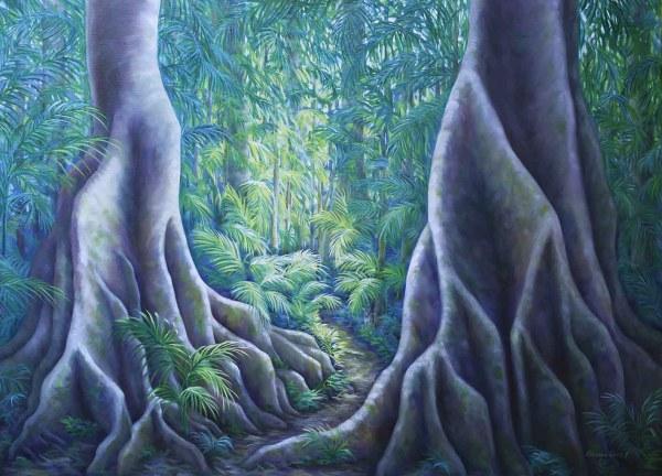 Verdant Dance - Palm Grove