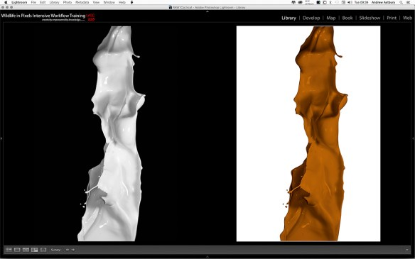 SSChoc Simple Masking in Photoshop